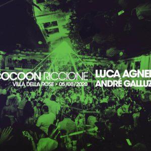Luca Agnelli anima il mercoledì Cocoon al Peter Pan Riccione