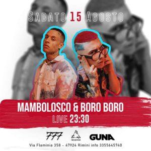 Ferragosto Altromondo Studios con Mambolosco e Boro Boro