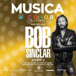 Bob Sinclar anima il nuovo mercoledì di Musica Riccione