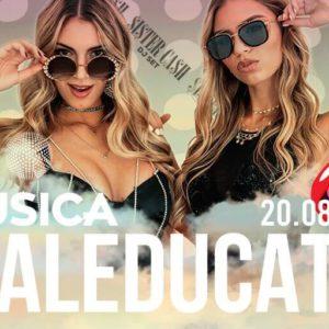 Il Musica Riccione apre anche di giovedì con Maleducata.