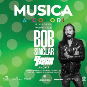 Bob Sinclar si scatena al Musica Riccione