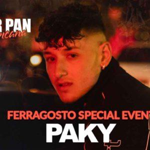 Paky ospite a sorpresa al Ferragosto Peter Pan