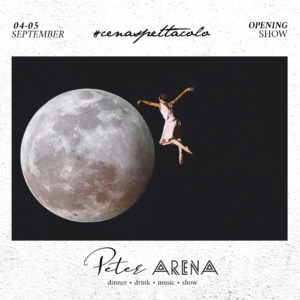 Torna lo show Arena al sabato del Peter Pan Riccione