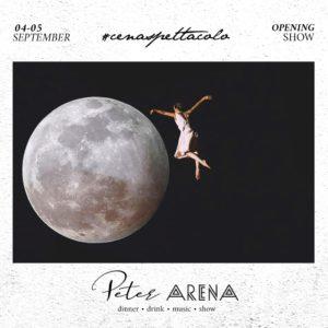 Cena spettacolo al Peter Pan Riccione con Arena