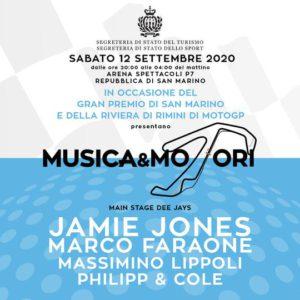 Musica Riccione presenta Musica e Motori con Jamie Jones.