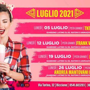 Tanta musica live al Bollicine Riccione con Ex Novo Band.