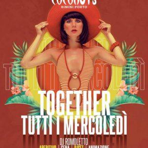 Tutti i mercoledì al Coconuts Rimini anima latina con il Grancaribe.