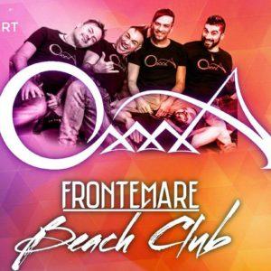 Gli Oxxxa in concerto al nuovo sabato Frontemare Rimini