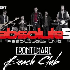 Aboslute5 in concerto al Frontemare Rimini.