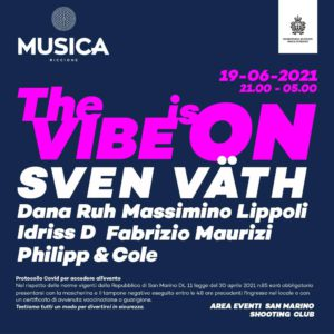 Si torna a ballare!! Il Musica Riccione ti aspetta a San Marino con Sven Vath
