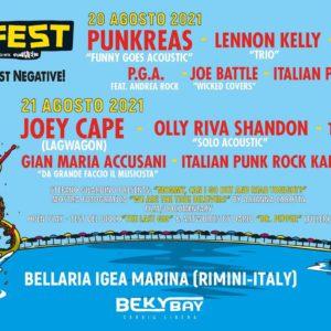 Joey Cape anima il secondo appuntamento del Bay Fest del Beky Bay Bellaria.