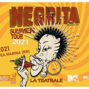 Negrita in tour al Beky Bay di Bellaria Igea Marina.