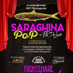 Arriva Saraghina Pop al Frontemare Rimini Beach Club.