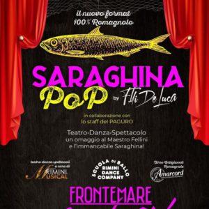 Saraghina Pop ti aspetta con un nuovo giovedì al Frontemare Rimini.