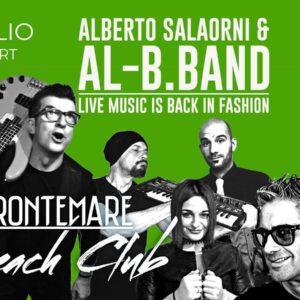 Gli Al B Band in concerto al Frontemare Rimini.
