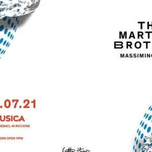 Opening Musica Riccione con i The Martinez Brothers.