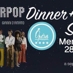 Nuovo mercoledì di cena e spettacolo dal vivo all'Opera Riccione.