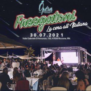 Festa della Notte Rosa 2021 all'Opera Riccione con il nuovo party Fregatorni.