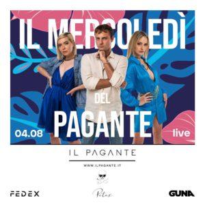 Al Peter Pan Riccione c'è aria di grandi ospiti. Sul palco della Discoteca Riccione arriva Il Pagante.