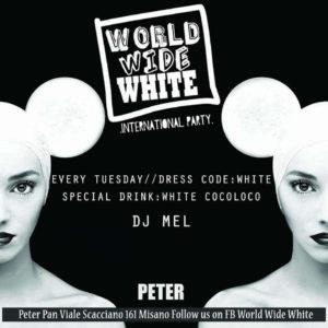 Peter Pan Riccione presenta World Wide White.