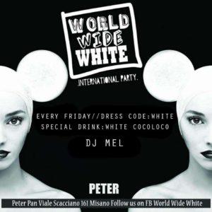 Nuovo venerdì di musica e festa al Peter Pan Riccione con World Wide Party.