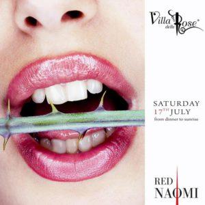 Nuova sabato di passione alla Villa delle Rose con Red Naomi.