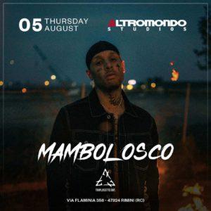 Mambolosco in concerto live all'Altromondo Studio di Rimini.