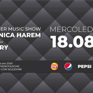 Pepsi Party all'Opera Riccione con Monica Harem.