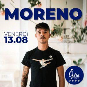 Moreno anima il nuovo venerdì dell'Opera Riccione.