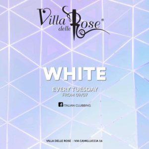 Il White party arriva alla Villa delle Rose.