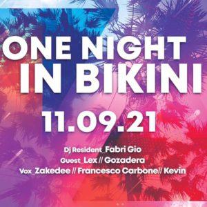 Bikini Cattolica presenta: One Night in Bikini.