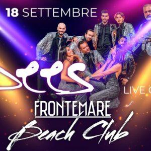 La magia degli anni 80 torna protagonista al sabato Frontemare Rimini. In concerto i Jbees.