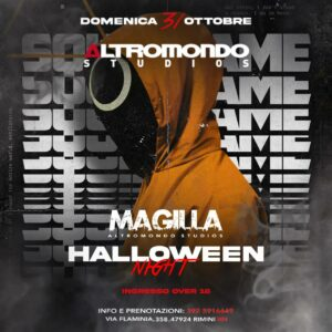Continua la festa di Halloween all'Altromondo Studios con Magilla.