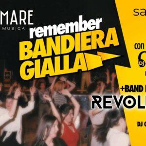 Halloween Party al Frontemare Marino con Remember Bandiera Gialla.